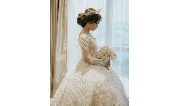 Couture Ball Gown for Wedding Reception