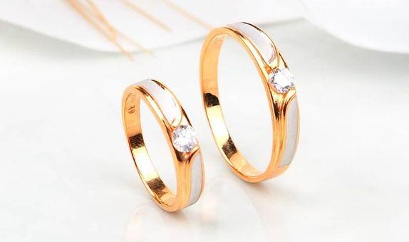 Cincin Nikah Couple Silver 925