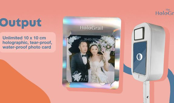Holographic Photo Booth - 2 hours - Unlimited Prints