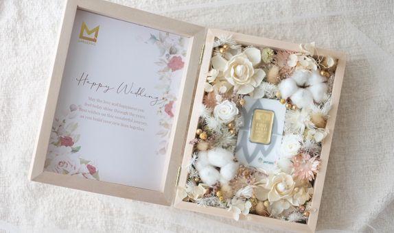Wedding Hampers Custom Logam Mulia Antam 1 - 100 Gram