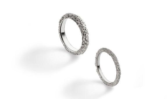 Coral - Wedding Ring Set