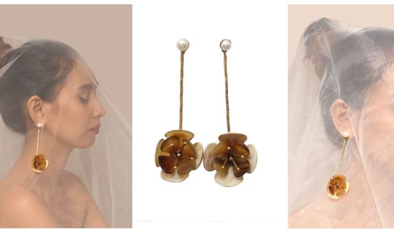 Suwung Magnolia Earring I