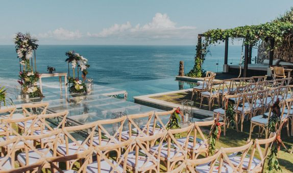 The Ungasan Clifftop Resort Wedding Package Up To 100 Pax