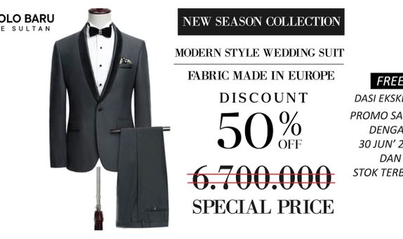 Modern Style Wedding Suit - MDN