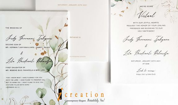 Wedding Invitation Floral 18