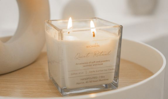 Scented Candle 60ml (Quiet Ritual)