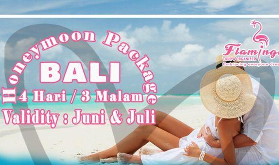 Honeymoon package Bali