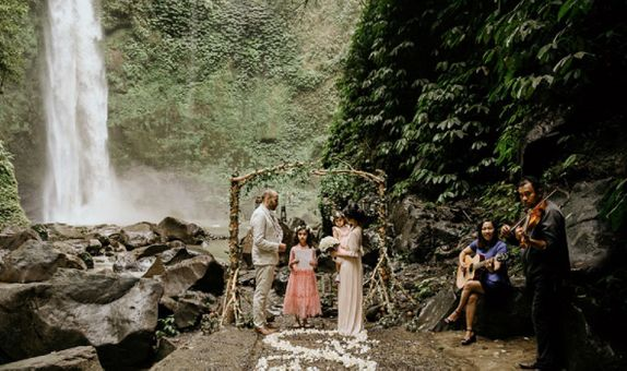 Magical Bali Waterfalls Bali Wedding