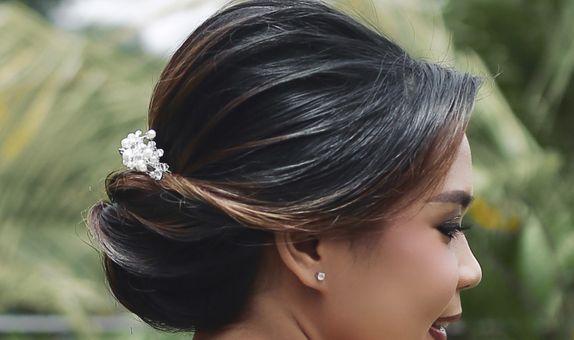 Engagement Hairdo