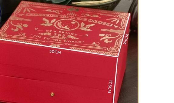 Christmas Classic Box 2 Tier