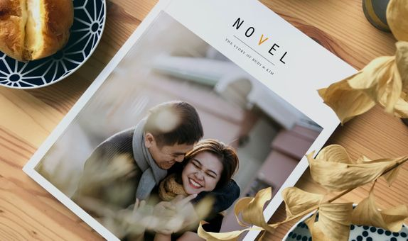 Personal Wedding Journal with Video