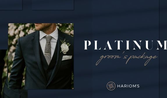 Hariom's Tailor - Groom's Outfit (Platinum Package)
