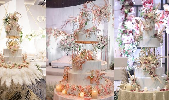 Best Seller Wedding Cake - 5 Tiers