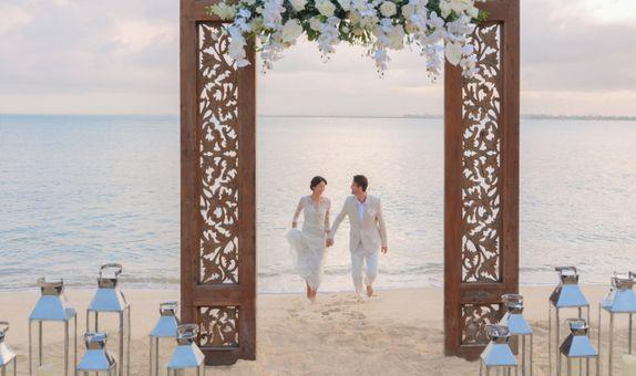 Raffles Bali Wellbeing Wedding
