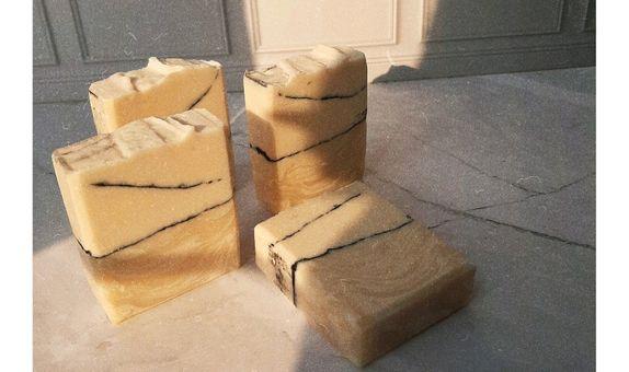 Handmade soap ( plastik + tag )