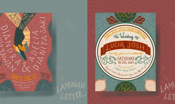 Lamunan Basic Package e-Invitation