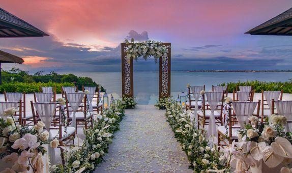 Raffles Presidential Villa Wedding