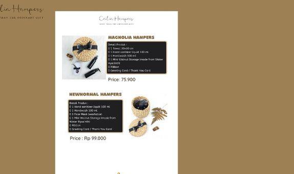 Katalog Hampers 1