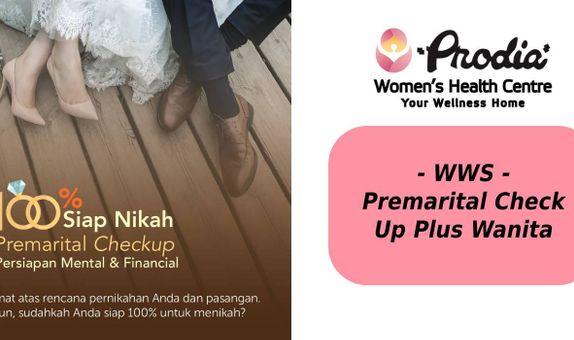 Premarital Check Up Plus - Wanita