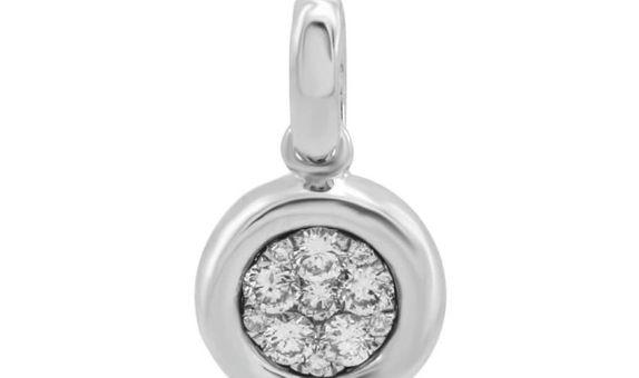 Liontin Emas Berlian Wanita DP000259 V&Co Jewellery