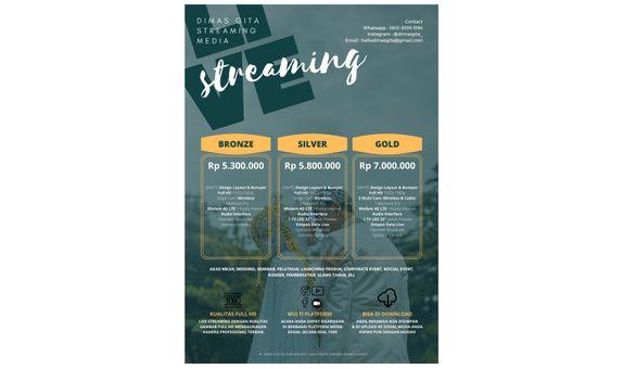 Live Streaming Pricelist