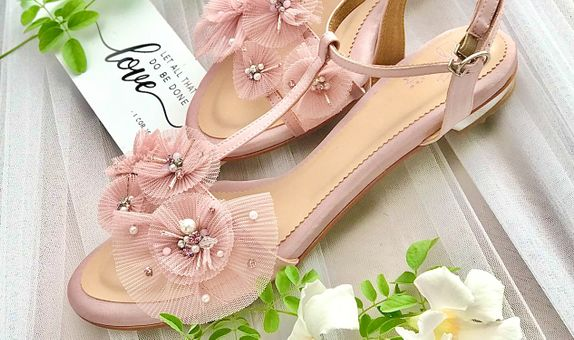 Special Order Blush Pink Flats 2cm