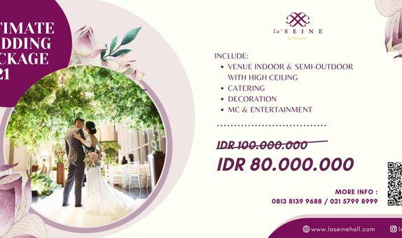 Intimate Wedding Package 2021