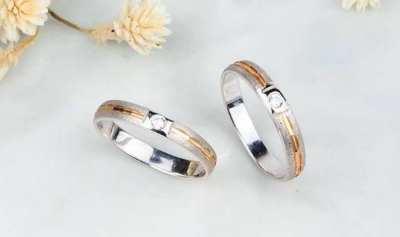 Cincin Kawin Couple Cincin Nikah Couple Cincin Sterling Silver 925