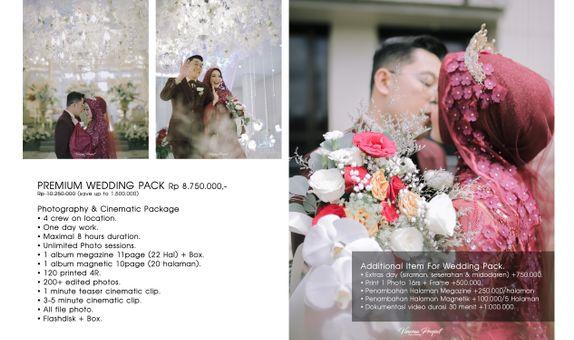 Wedding Premium Package Photo & Video