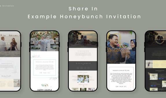 Wedding Invitation for Honeybunch