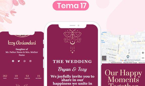 Undangan Pernikahan Digital Website (Basic)