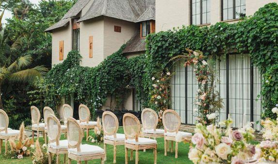Intimate Wedding at Kemilau Villa