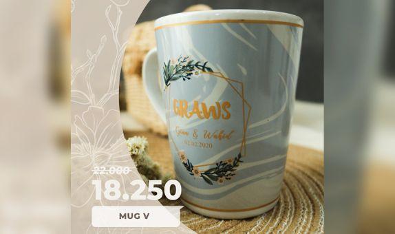 SPECIAL PROMO! Mug V Include Box Sticker + Thank You Card