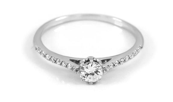Cincin Emas Berlian Wanita DR001678 V&Co Jewellery V&Co Jewellery