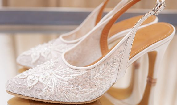 WEDDING SHOES/BRIDAL SHOES -DELLANIR SIMPLE PAYET- BY REMIZY IVONNY