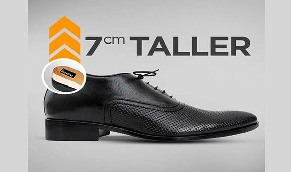 Keeve Height Increasing Shoes Oxford KBP-106