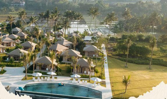 Bali Beach Glamping Weekend Wedding Package