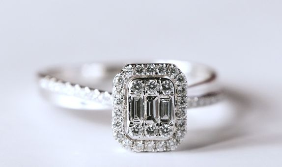 Diamond Ring Cross - Ivana Jewellery