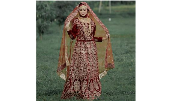 BRIDAL DRESS SHAHNAZ SINGLE