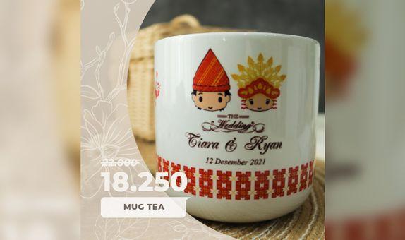 SPECIAL PROMO! Mug Tea Include Box Sticker + Thank You Card