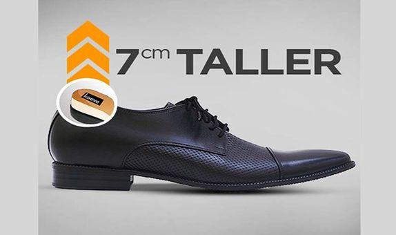 Keeve Height Increasing Shoes Derby KBP-078