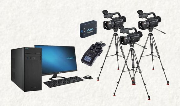 Live Streaming Package Triple Cam
