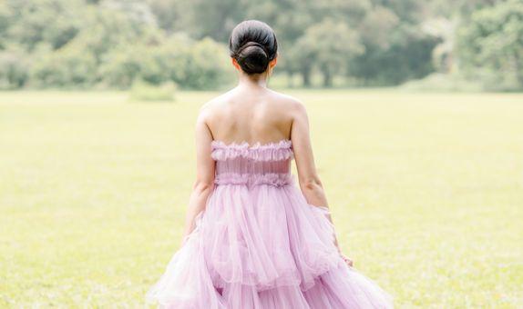 Prewedding dress (in color)