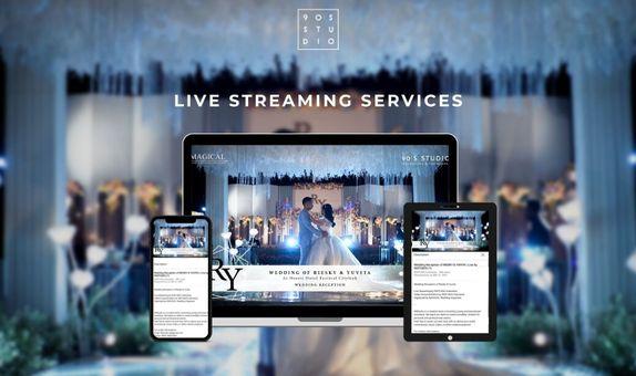 PREMIUM FULL DAY Live Streaming for Wedding (ZOOM & GOOGLE MEET)