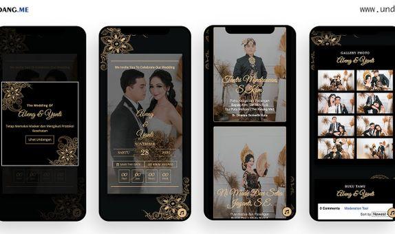 Undangan Website Tema Sokya Paket Premium