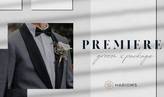Hariom's Tailor - Groom's Outfit (Premiere Package)