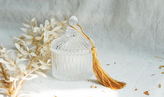 Crystal Trinket Jar : Mini Victoria