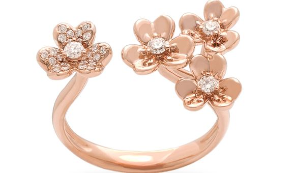 GRACIEUX COCKTAIL RING