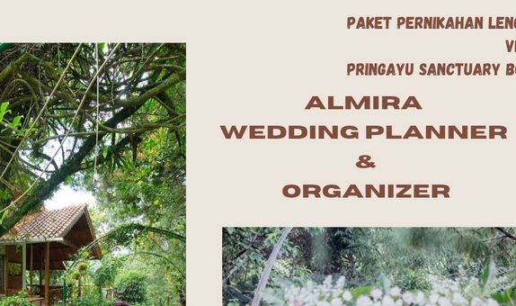 Paket Pernikahan Lengkap. Venue: Pringayu Sanctuary & Kirana Catering