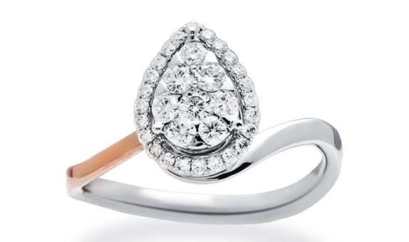 PEARIE DIAMOND RING